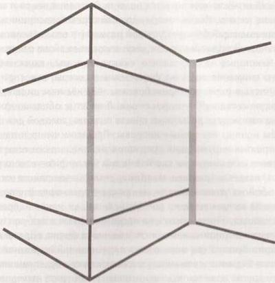 Рис. 9. Две вертикальные серые полоски