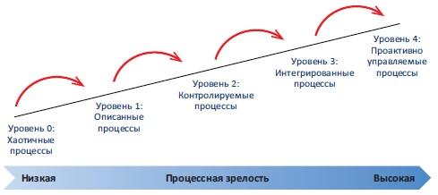 Рис. 3. Процессная зрелость