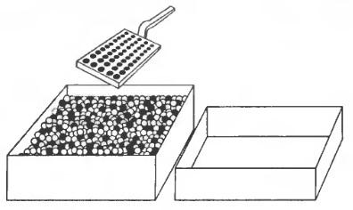 Рис. 6. Бусинки и лопатка