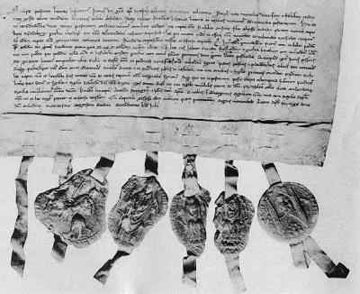 Акция компании Stora, датируемая 1288 г