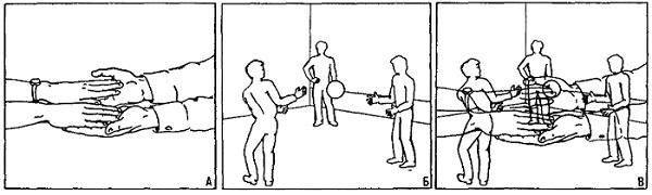 Рис. 3. Эксперимент на избирательное смотрение