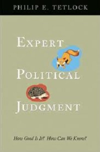 053. Expert Political Judgment
