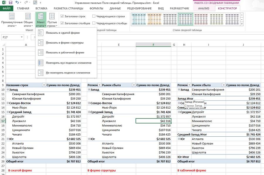 оформление таблиц в курсовой работе