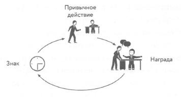Рис. 11. Новая петля привычки