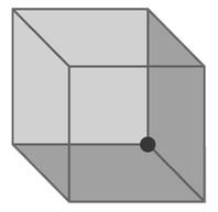 Рис. 3. Куб Неккера