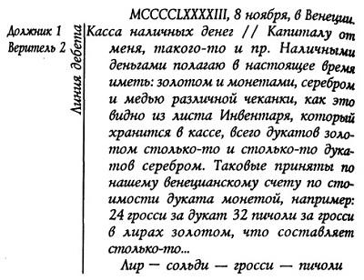 Рис. 1. Статья о наличных деньгах в Журнале