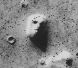 Лицо на Марсе