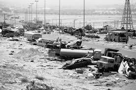 Рис. 12. Операция «Буря в пустыне» началась 17 января 1991 года