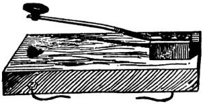 Рис. 6. Телеграфный ключ Альфреда Вейля