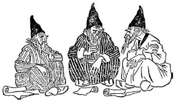 Рис. 6. Три мудреца