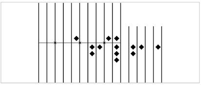 Рис. 7. Чертёж абака, найденного на Соломине