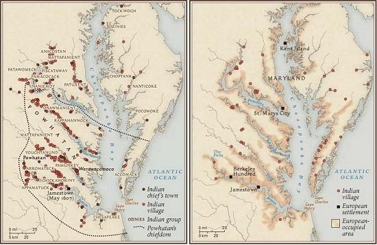 Рис. 6. Джеймстаун – первое поселение англичан в Северной Америке