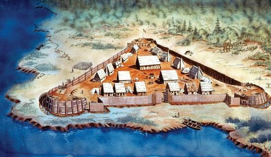 Рис. 7. Джеймстаун – музей под открытым небом