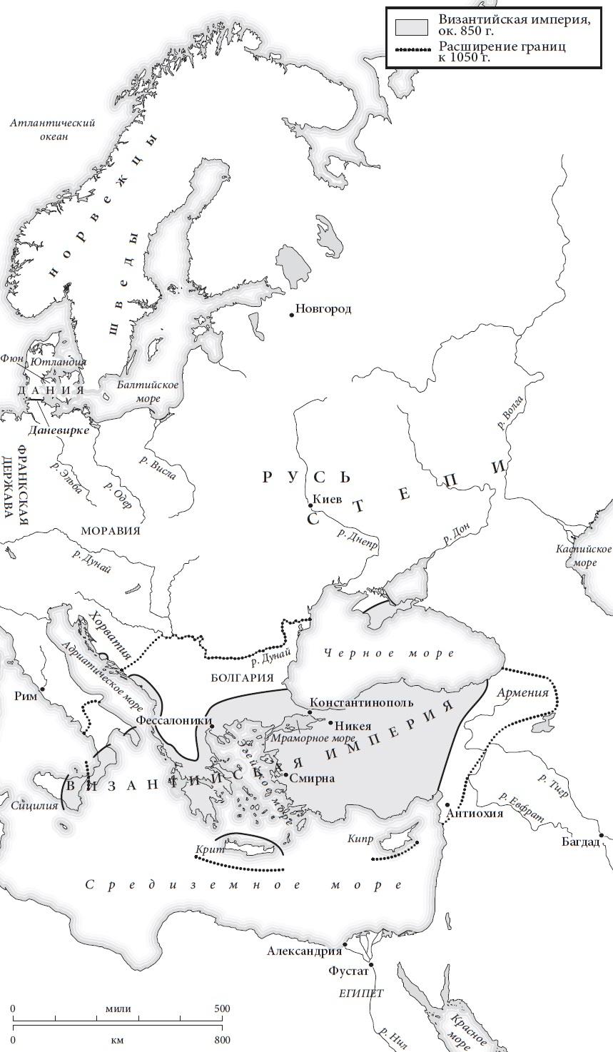 Ris. 2. Vostochnaya Evropa v 850 g