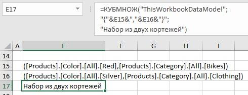 Ris. 24v. Argument Vyrazheniya mnozhestva nabran iz fragmentov teksta i ssylok na yachejki