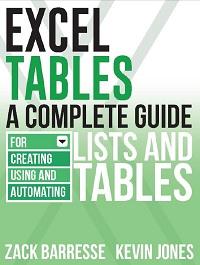 Zak Barress i Kevin Dzhons. Tablitsy Excel. Oblozhka
